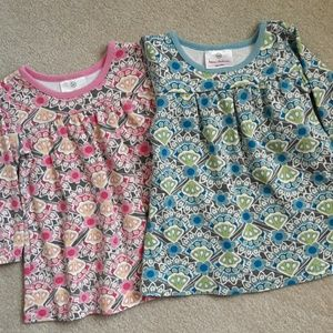 Hanna Andersson 2 dresses top size 80 2T